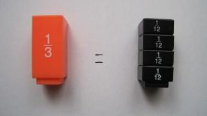 comprendre les fractions en manipulant, en comparant